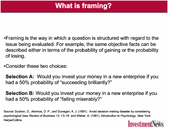 What is Framing | Your Personal CFO - Bourbon Financial Management